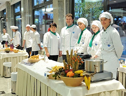 Slovenian culinary delights and wines festival