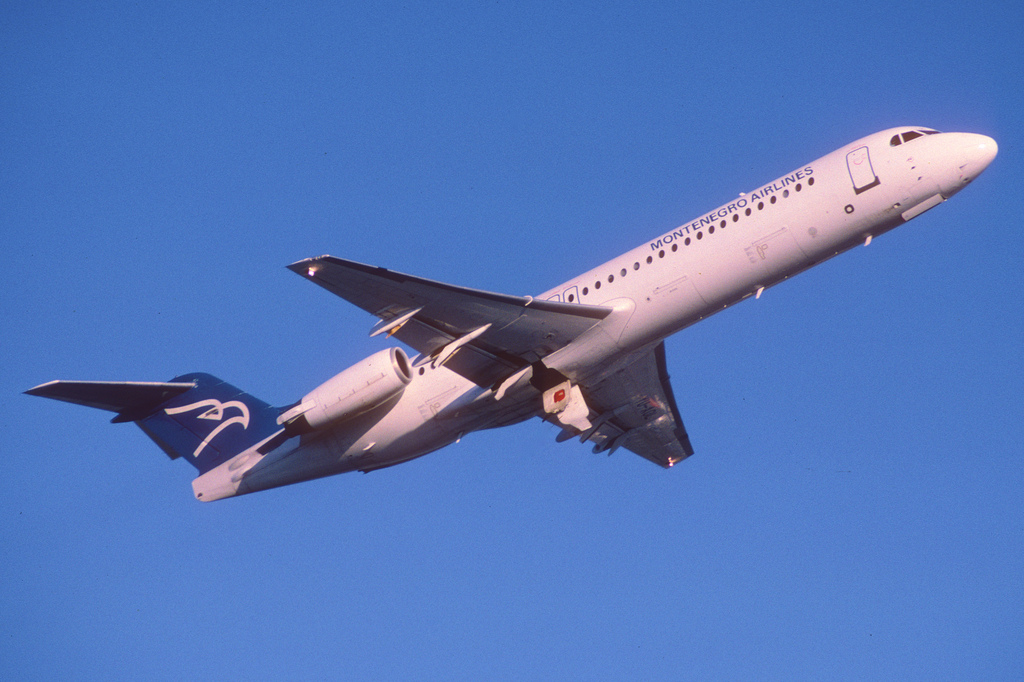 Montenegro Airlines will operate charters to several German cities