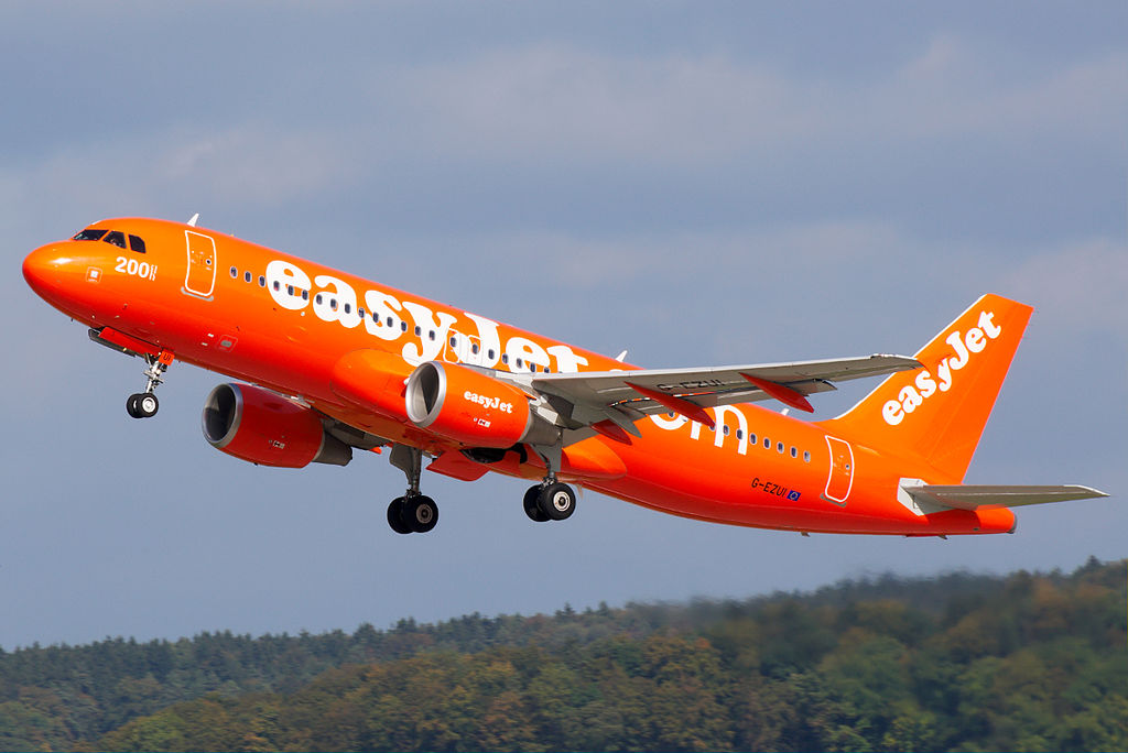 easyJet new routes to Split